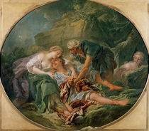 Amintas Brought Back to Life in the Arms of Sylvie von Francois Boucher