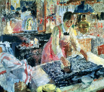 Woman Ironing, 1912 by Rik Wouters
