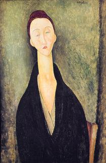 Madame Hanka Zborowska, 1918 by Amedeo Modigliani