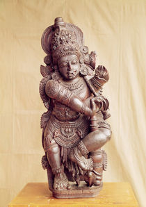 Durga, from Southern India by Indian School