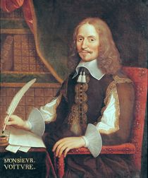 Portrait of Vincent Voiture by French School