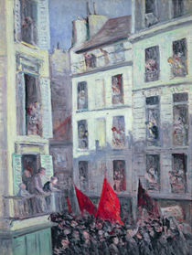 The Popular Front, c.1936 by Maximilien Luce