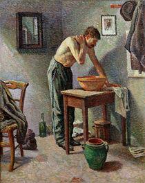 The Toilet, 1887 von Maximilien Luce