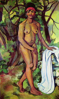 Nude Negress, 1919 by Marie Clementine Valadon