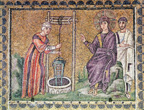 The Woman of Samaria at the Well by Byzantine School
