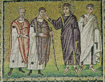 The Healing of Two Blindmen from Jericho by Byzantine School