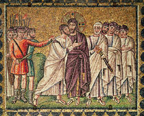 The Kiss of Judas, Scenes from the Life of Christ von Byzantine School