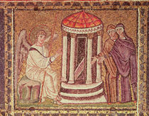 The Marys at the Tomb, Scenes from the Life of Christ von Byzantine School