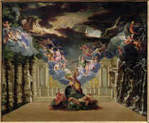 Set design for 'Atys' by Jean-Baptiste Lully von French School