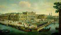 The Summer Palace, St. Petersburg by Russian School