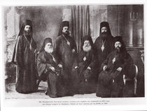 Bulgarian Bishops of Macedonia chased away from their diocese by Serbs by French Photographer