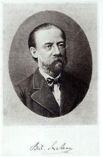 Portrait of Bedrich Smetana by French School