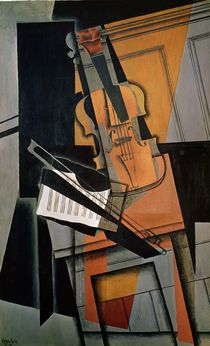The Violin, 1916 von Juan Gris