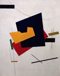 Suprematism, before 1916 by Klyun Ivan