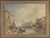 The Grand Canal, Venice, 1835 von James Duffield Harding