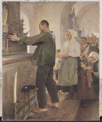 The Ex Voto, 1898 by Henri Royer