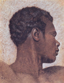 Head of a Negro by Theodore Gericault