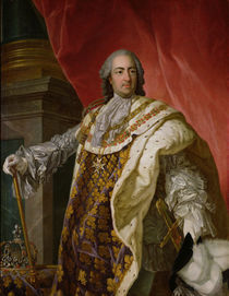 Louis XV by Louis Michel van Loo