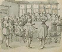 A guild meeting, second half 17th century von Dutch School