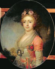 Portrait of Grand Duchess Alexandra by Vladimir Lukich Borovikovsky