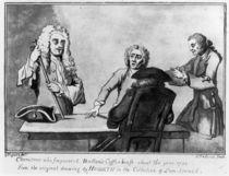 Buttons Coffee House, 1730 von William Hogarth