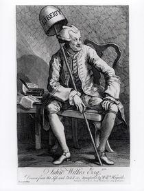 John Wilkes 1763 by William Hogarth