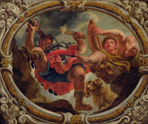 Aries, from the Signs of the Zodiac by Jacob Jordaens