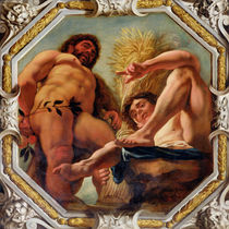 Leo, from the Signs of the Zodiac von Jacob Jordaens