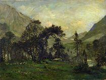 The Mahoura at Cauterets by Charles Francois Daubigny