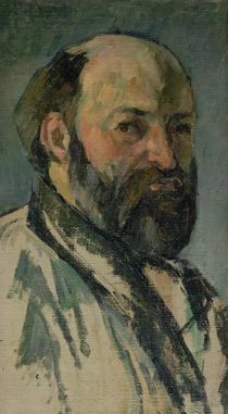 Self Portrait, c.1877-80 by Paul Cezanne