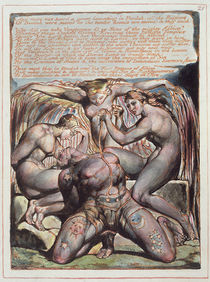 'And There Was Heard...', plate 25 from 'Jerusalem' von William Blake