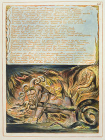 'Bath, Mild Physician...', plate 46 from 'Jerusalem', 1804-20 von William Blake