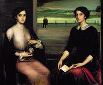 Portrait of Angeles and Fuensanta by Julio Romero de Torres