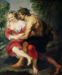 Scene of Love or, The Gallant Conversation von Peter Paul Rubens