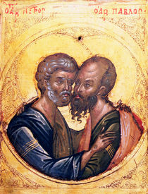Icon of SS. Peter and Paul von Byzantine