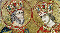 Constantine the Great and St. Helena by Veneto-Byzantine School