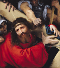 Christ Carrying the Cross, 1526 by Lorenzo Lotto