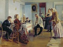 Hiring of a Maid, 1891-92 by Vladimir Egorovic Makovsky