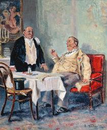 In a Restaurant, 1914 von Vladimir Egorovic Makovsky