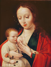 The Virgin Breastfeeding the Infant Christ by Joos van Cleve