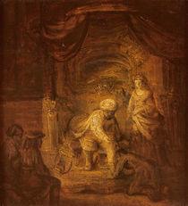 Biblical Scene von Rembrandt Harmenszoon van Rijn