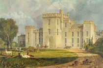 View of Hampton Court from the North-west by Joseph Mallord William Turner