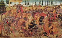 Battle between Darius and Alexander the Great by Italian School