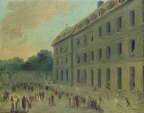 Recreation at the Saint-Lazare Prison von Hubert Robert