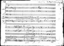 'Cosi Dunque Tradisci...', recitative and aria, 1783 by Wolfgang Amadeus Mozart