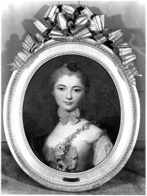 Portrait of Louise Honorine Crozat du Chatel Duchess of Choiseul von Francois Boucher