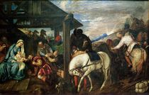The Adoration of the Magi, c.1561 by Titian