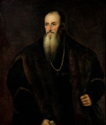 Portrait of Nicolas Perrenot de Granvelle by Titian