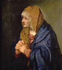 The Madonna of Sorrows by Titian
