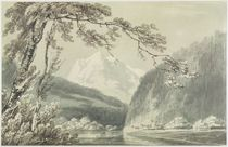Near Grindelwald, c.1796 von Joseph Mallord William Turner
